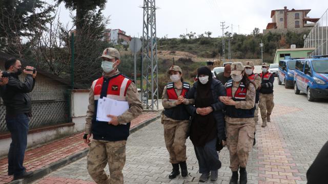 Suriyeden yasa dışı yollarla Türkiyeye girmeye çalışan 6 kişi yakalandı