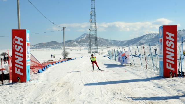 Türkiye Kayaklı Koşu Grup Şampiyonası sona erdi