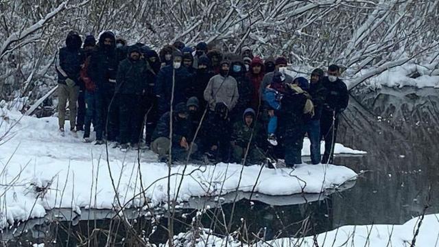 Yunanistanın ölüme terk ettiği göçmenleri Türkiye kurtardı