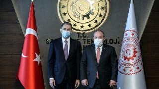Bakan Varank, Azerbaycanlı mevkidaşı Nabiyev ile görüştü