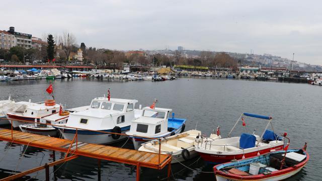 Tekirdağlı balıkçılar Marmaraya açılmak için deniz salyasının bitmesini bekliyor