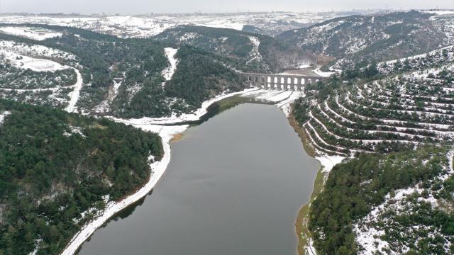 İstanbul barajlarındaki doluluk oranı 49,16ya yükseldi
