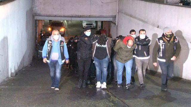 9 ay takip edilen Daltonlar çetesi çökertildi: 44 tutuklama