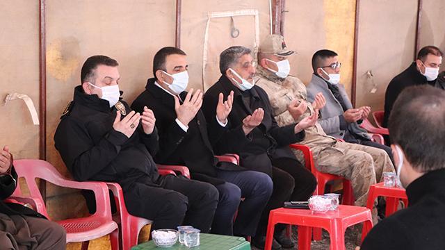 Siirtte Gara şehitleri için hatim duası yapıldı