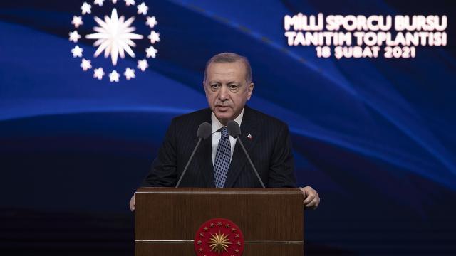Cumhurbaşkanı Erdoğan: Türkiye spor altyapısında da çağ atlamıştır