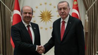 Cumhurbaşkanı Erdoğan'dan Tatar'a bayram tebriği