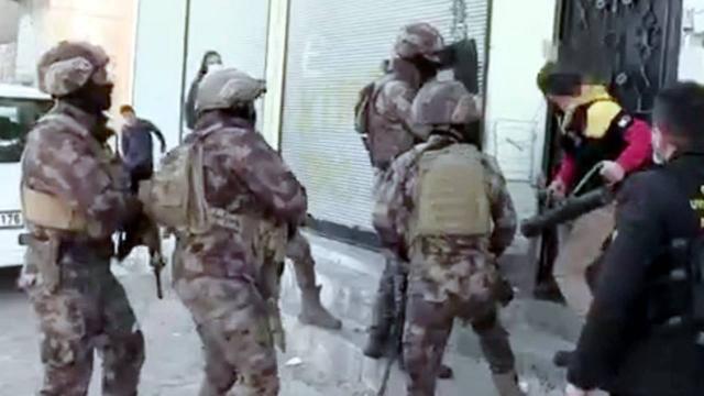 Gaziantepte uyuşturucu operasyonu: 29 gözaltı