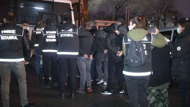 İstanbul merkezli uyuşturucu operasyonu: 45 şüpheli adliyede