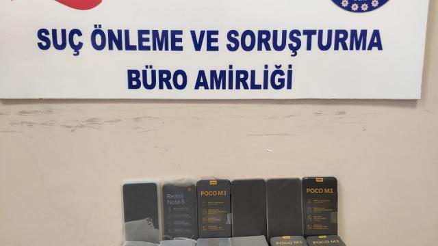 Gaziantepte 47 kaçak cep telefonu ele geçirildi