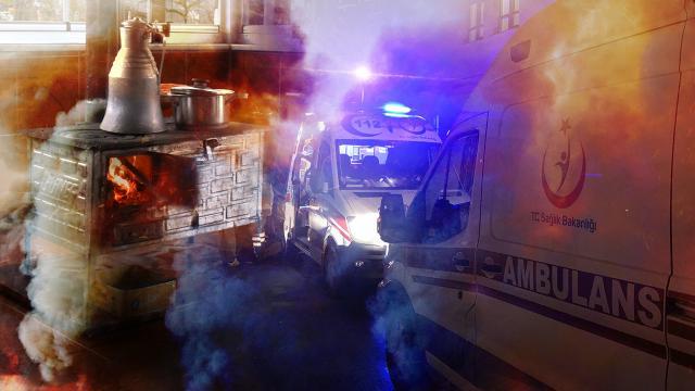 Gaziantepte bir günde 81 kişi soba gazından etkilendi: 1 ölü