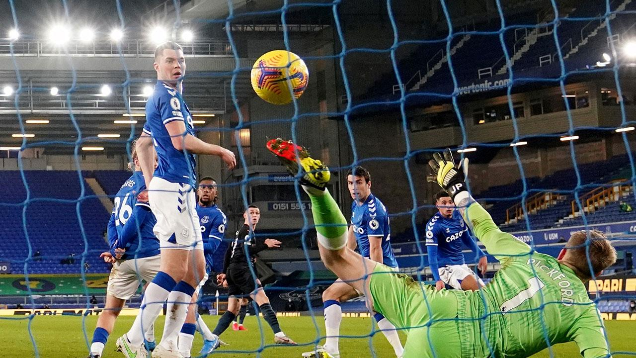 Manchester City, Everton'ı yendi