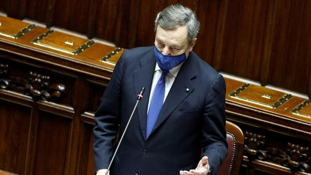 İtalyada yeni dönem: Draghi hükümeti güvenoyu aldı