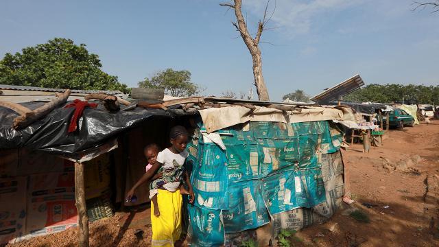 Nijeryada kampta yangın: 3 bin 600 kişi çadırsız kaldı