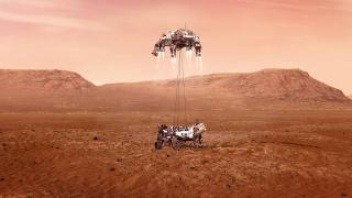 Perseverance Mars'a inişini başarıyla gerçekleştirdi