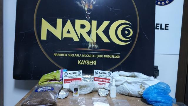 Kayseride uyuşturucu operasyonunda 1 kişi yakalandı