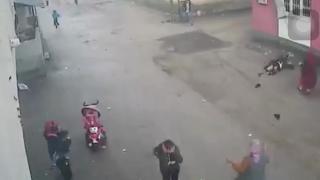 Yaralı eşine şiddet uyguladığı öne sürülen zanlı tutuklandı