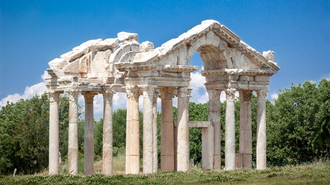 Antik dünyanın en iyi korunmuş stadyumu: Afrodisias