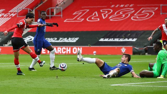 Chelseanin serisini Southampton bozdu