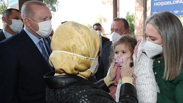 Cumhurbaşkanı Erdoğandan Ayda bebeğe ziyaret