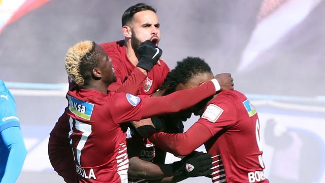Hatayspor Erzurumda 3 golle kazandı