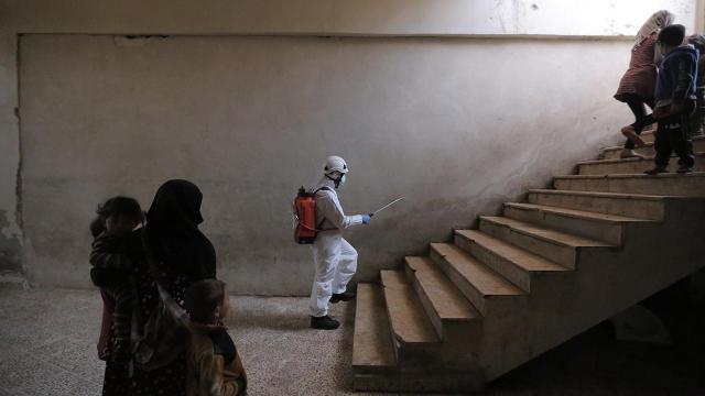 BM: Suriyenin kuzeybatısında vakalar son bir ayda yüzde 170 arttı