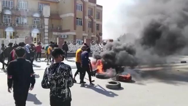 Irakta işsizlik protestoları: Zikarda valilik binası taşlandı