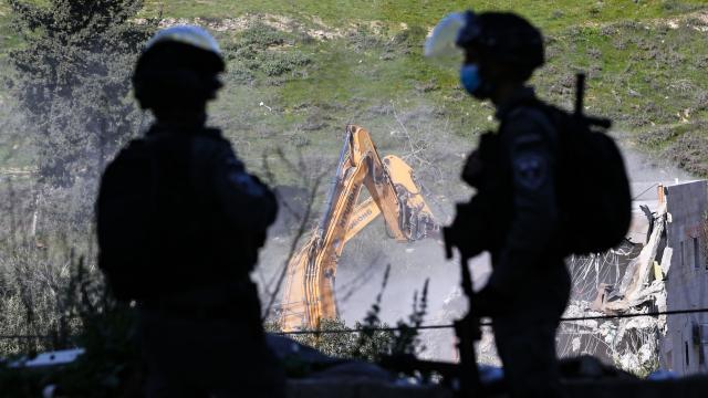 İsrail Kudüste 62 bina yıktı