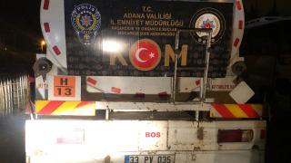 Adana'da 21 bin litre kaçak akaryakıt ele geçirildi
