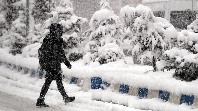 """Meteorolojiden 3 kente """"kar"""" uyarısı"""