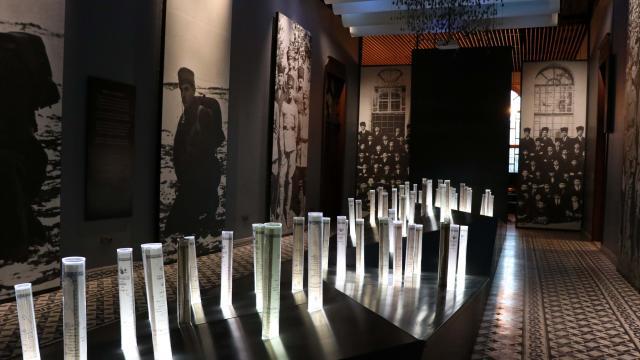 """Milli mücadeledeki çocuk kahramanların """"Taş Mektep""""i 470 bin ziyaretçi ağırladı"""