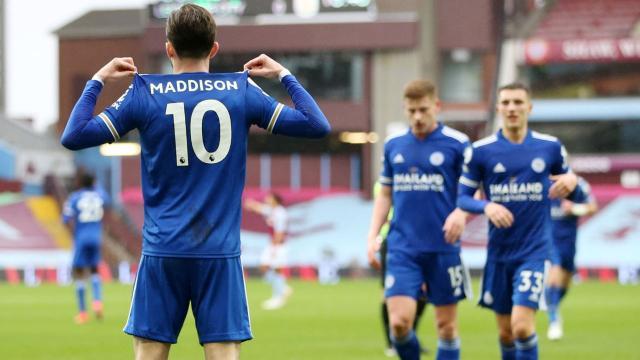 Leicester City zirve takibini sürdürdü