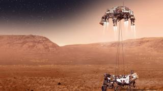 Perseverance Gezgini Mars'a İndi
