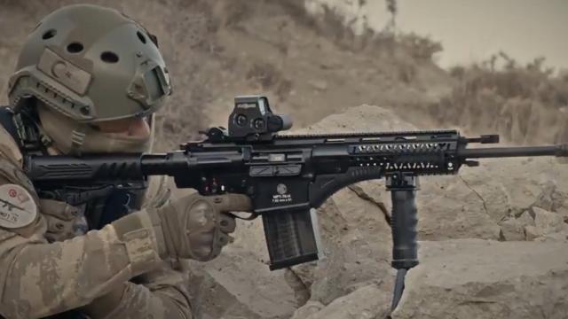 Hafifletilen Milli Piyade Tüfeği Mehmetçikin kullanımına hazır