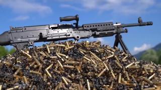 Jandarma'ya makineli tüfek teslimatı