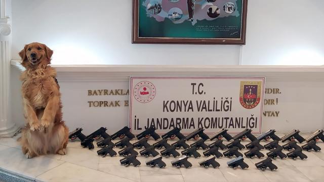 Konyada silah kaçakçılığı operasyonu: 5 tutuklama