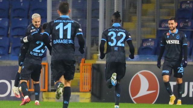 Trabzonsporun yükselişi sürüyor