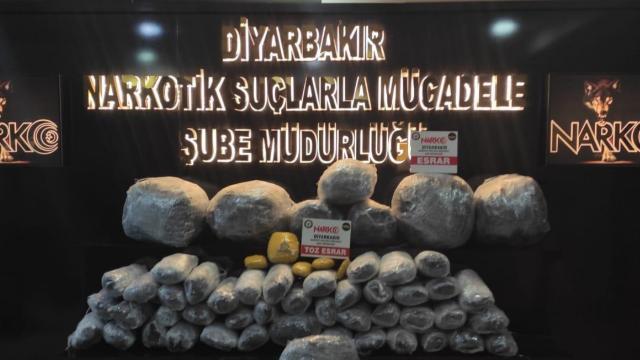 Diyarbakırda uyuşturucu operasyonu: 19 tutuklama