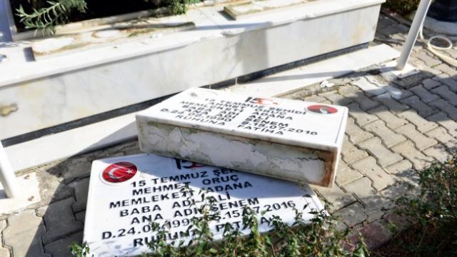 Adanada mezarlığı tahrip ettiği iddiasıyla 5 kişi gözaltında