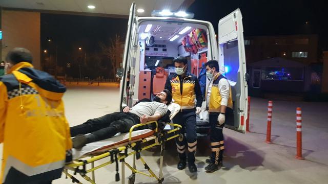 Bursada iki ayrı trafik kazasında 2 kişi yaralandı