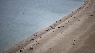 Antalya'da güneşli hava