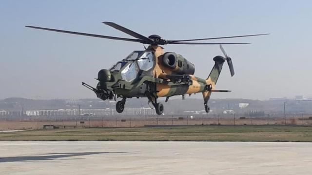 53üncü ATAK helikopteri envantere girdi