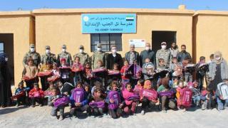 Barış Pınarı bölgesinde onarılan okullar eğitime açıldı
