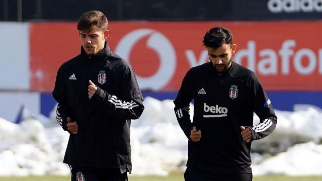 Beşiktaşta Ghezzal ve Montero sahaya indi