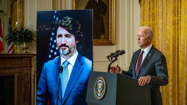 Biden ile Trudeaudan iş birliğini artırma sözü