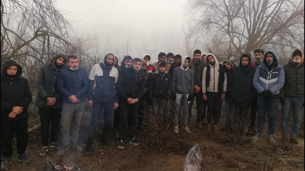 Göçmenlerin yardımına Türkiye yetişti