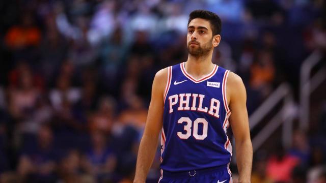 Furkan Korkmazın 9 sayı attığı maçta Philadelphia 76ers galip