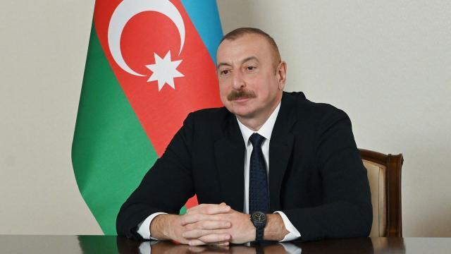 """Aliyev, Ermenistanın savaşta """"İskender M"""" balistik füzeleri kullandığını açıkladı"""