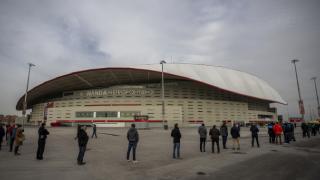 Madrid'de toplu aşılama stadyumda başladı