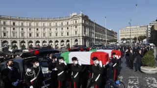 İtalyan büyükelçiye devlet töreni