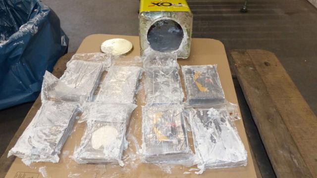 Hamburg Limanında 16 ton kokain ele geçirildi